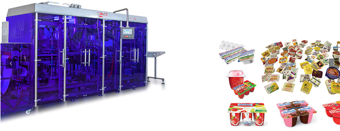 Fully automatic form fill and seal packaging machines for sale